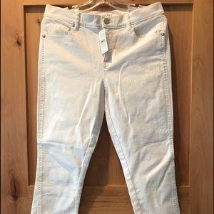 Loft White 8 29 Modern Jeans New